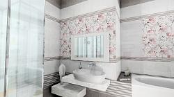Милана розовые цветы
