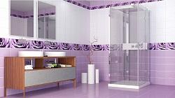 Капли росы фиолетовый